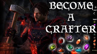 HOW to be a MASTER CRAFTER in ESO (Elder Scrolls Online Tips for PC, PS4, and XB1)