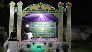 Dekorasi Panggung Maulid Nabi Muhammad Saw By Syamsul Bahri