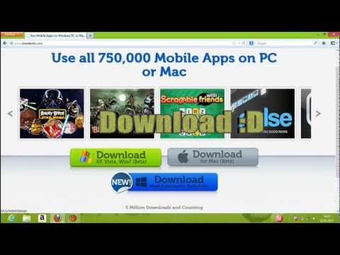 Install Android Apps on your PC (2013) EASY