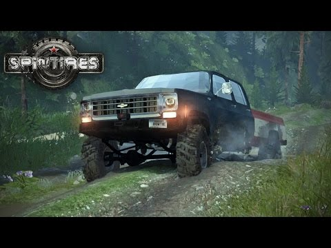 Spin Tires MP with Mods #14 - Muddin
