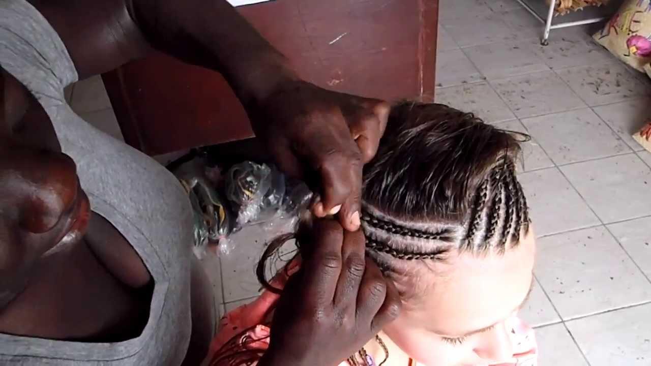 Hair Braiding In Jamaica By Nicoya James Youtube
