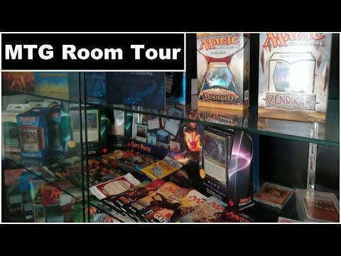 Magic the Gathering Hobby Room - Collection, Display, Sealed Product and slight D.I.Y.