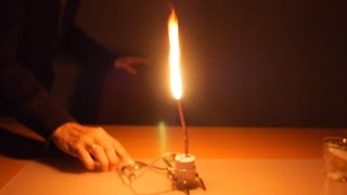 Acetylene Lamp Explosion. How to Make an Acetylene Lamp (safer one).