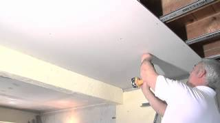 How to install a soundproof ceiling
