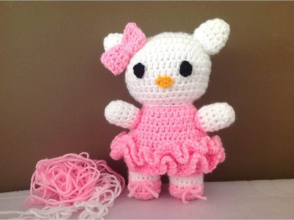 Hello Kitty Crochê Amigurumi no Elo7 | Amores em Linha (F1AB47) | 720x960