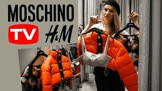 H&M MOSCHINO HAUL & TRY ON| SHOP WITH ME|  MON MODE