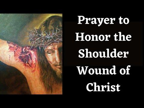 Shoulder Wound of Christ Prayer