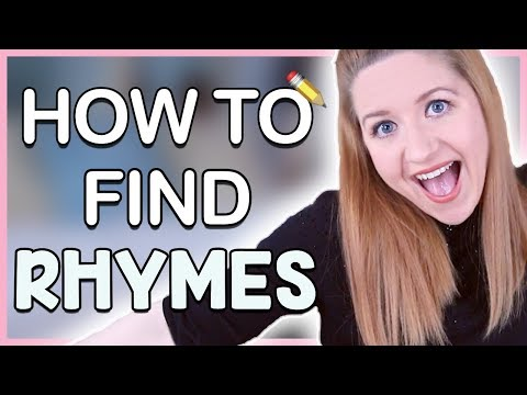 How To Rhyme: How To Find Rhymes Fast! (Songwriting 101)
