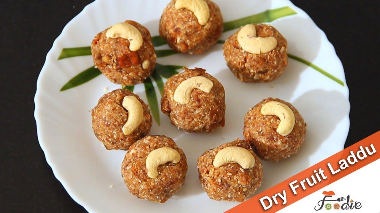 Dry Fruit Laddu Recipe Easy Sweet Recipes At Home Sugar Free