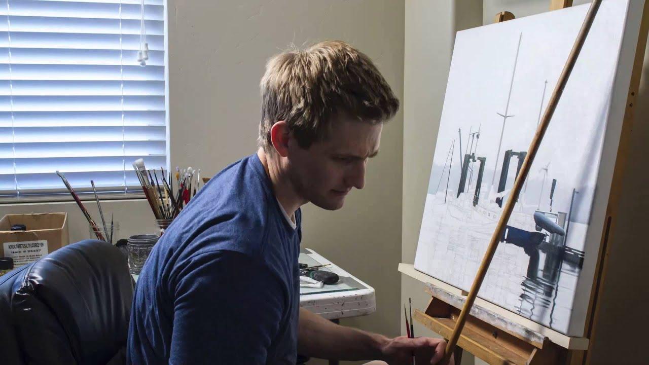Keeping It Hyperreal Patrick Kramers Detailed Paintings YouTube - Incredible hyper realistic paintings by patrick kramer