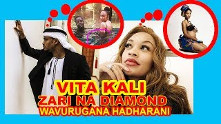 Vita kali ya zari the boss lady na diamond plutnumz baada ya mimba ya hamisa mobeto