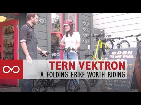 Review: Tern Vektron Electric Bicycle