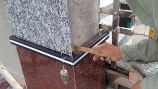 Engineering and Construction - Paving Stone For Gate Column