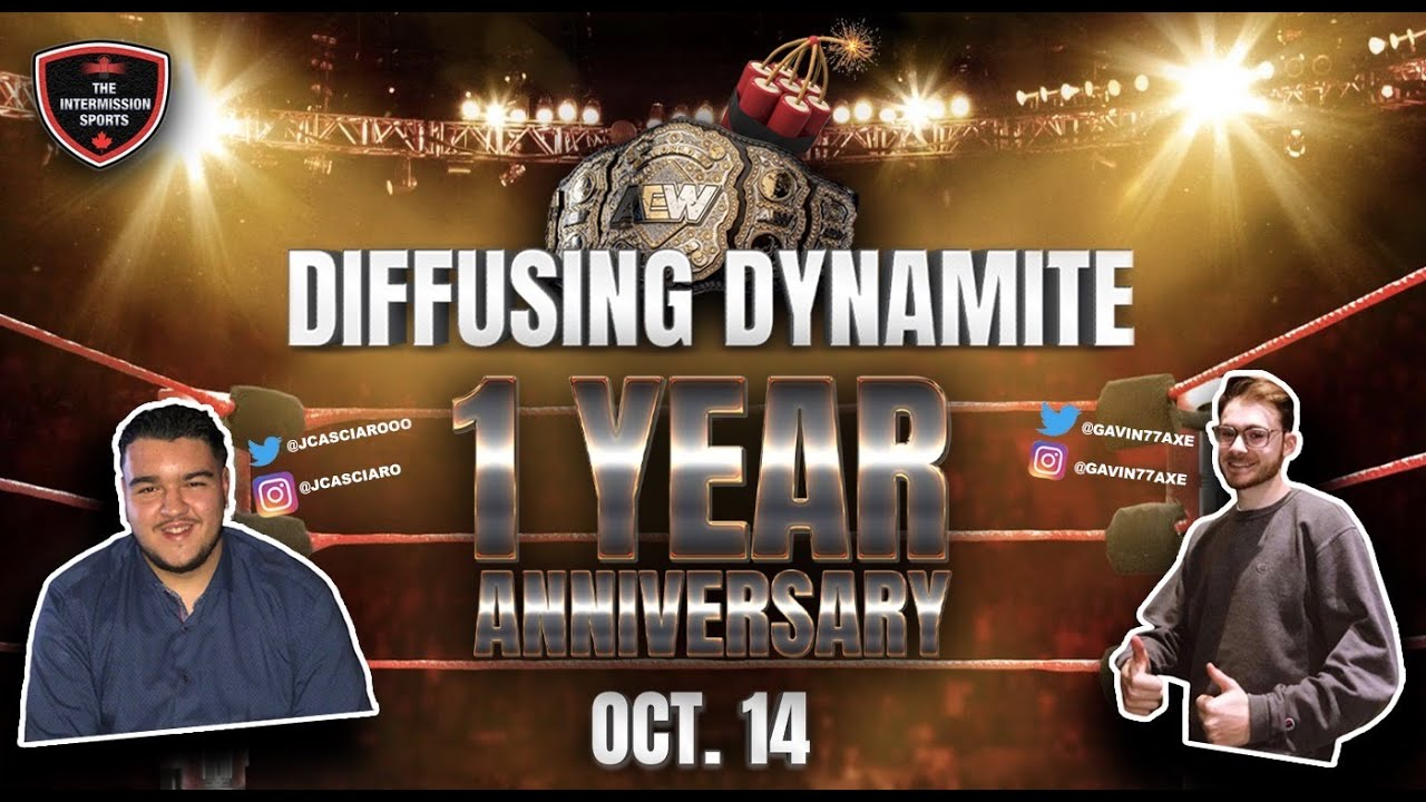 Video: Diffusing Dynamite Oct. 14 One Year Anniversary Show