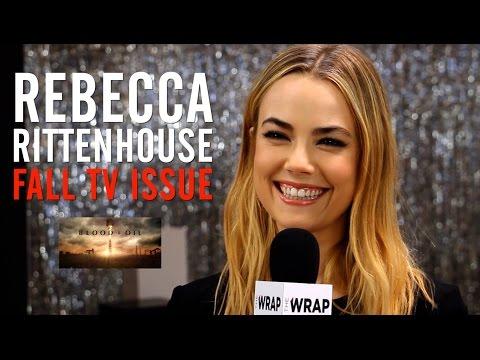 'Blood & Oil' Star Rebecca Rittenhouse : TheWrap Magazine Fall TV Issue Cover Shoot