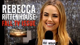 'Blood & Oil' Star Rebecca Rittenhouse Interview: TheWrap Magazine Fall TV Issue Cover Shoot