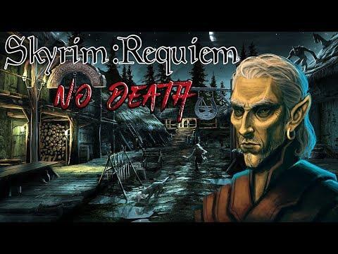 Skyrim - Requiem (без смертей, макс сложность) Альтмер-маг  #29 БагоСратники thumbnail
