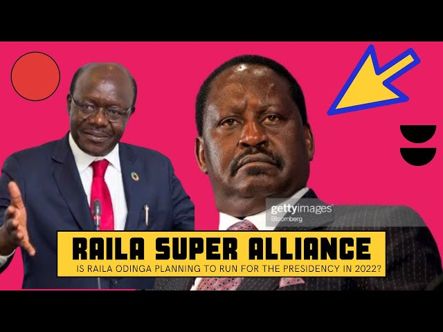 Details Leak of Raila Odinga New Alliance to Face William Ruto and One Kenya Movement in 2022