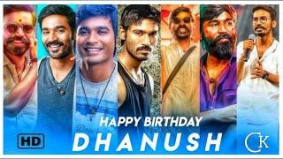 🔥Happy Birthday Dhanusha WhatsApp Status | Dhanush birthday WhatsApp status 2020