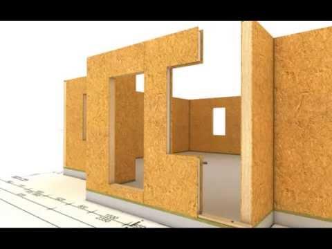 Animacion construccion de casa modular paneles sip - Construccion de casas ...