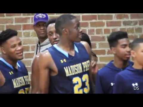 Madison Prep 73, Amite 54 - Josh Anderson, Josh LeBlanc, Kobe Julien go airborne for big dunks