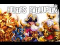 Castillo Furioso: Como Evolucionar tu Heroe leyenda