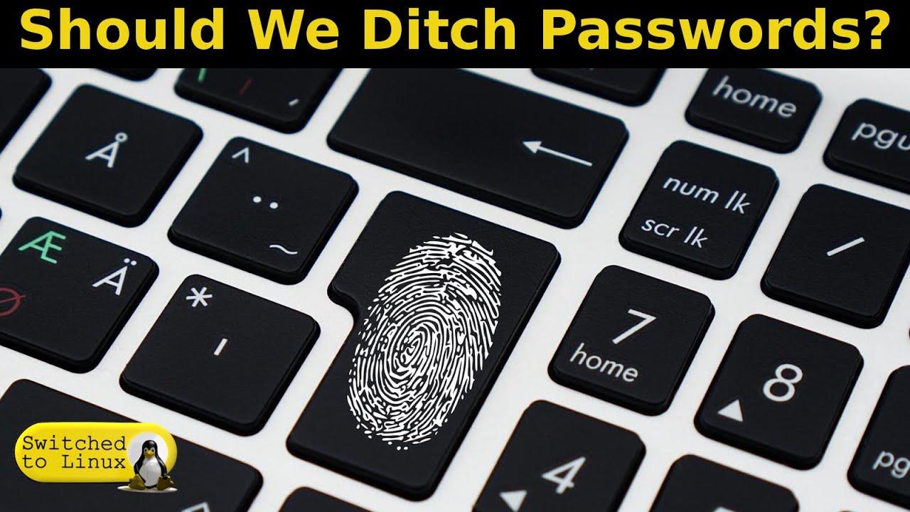 Should We Abandon Passwords?