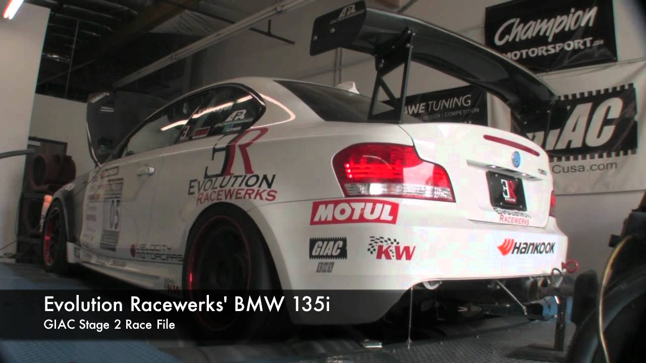 Stage 2+ N54 software testing with the Evolution Racewerks 135i