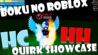 HALF HOT HALF COLD BOKU NO ROBOX SHOWCASE | BOKU NO ROBLOX QUIRK SHOWCASE