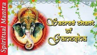 SACRED CHANTS of GANESH : GANESH MANTRA | GANESHA PANCHARATNAM | GANAPATI STAVAHA | GANESH BHUJANGAM
