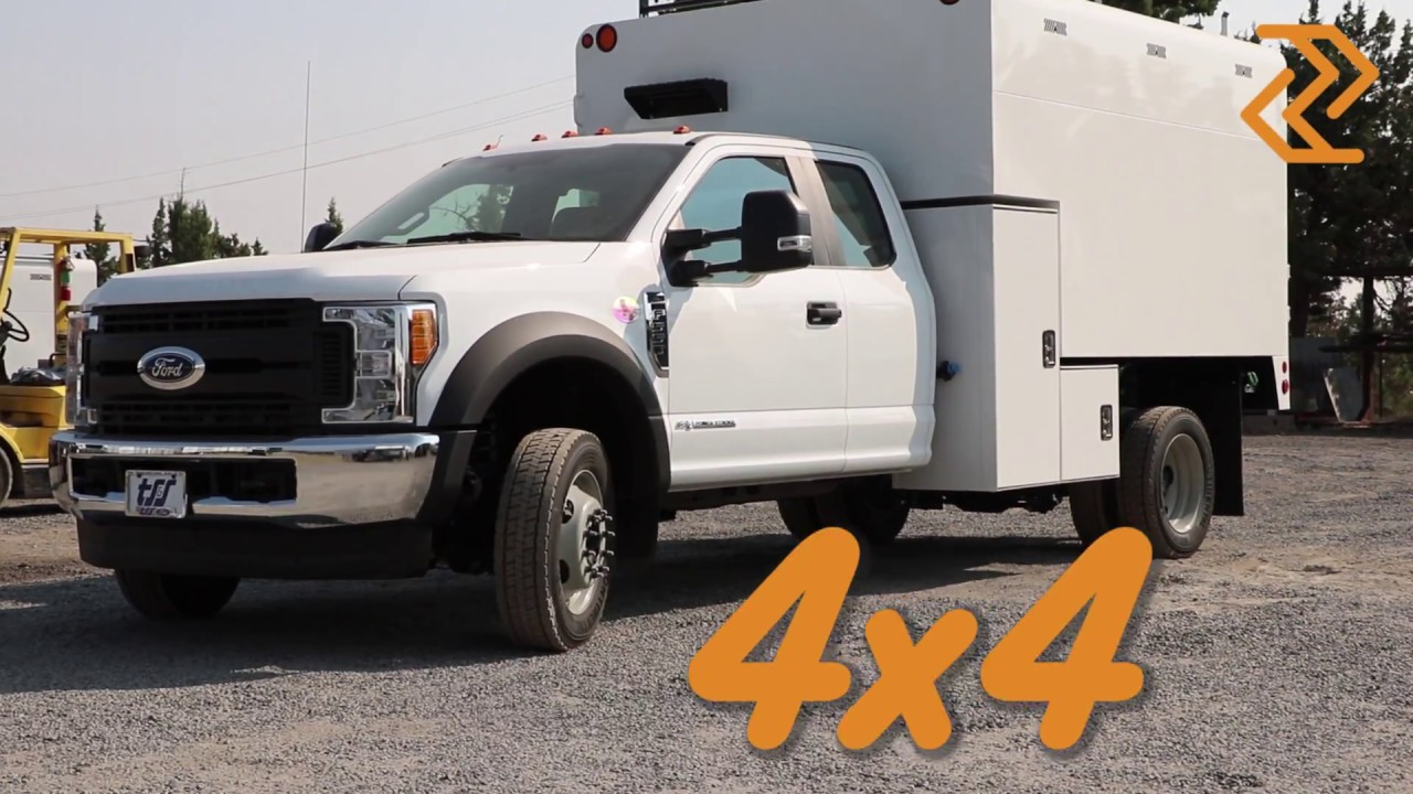 2018 Ford F 550 With Arbortech Chip Body For Sale By Work Truck