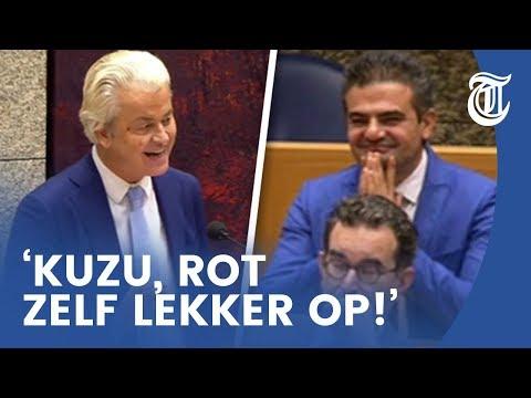 Toon gezet door Wilders: 'Kuzu, rot op!'