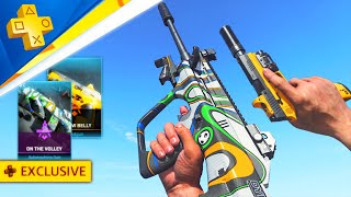 The New PlayStation EXCLUSIVE Gun in Warzone!