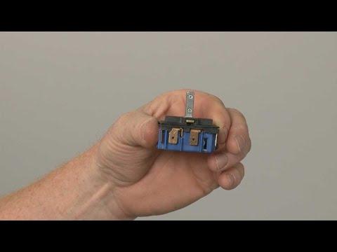 Right Front/Left Rear Surface Element Switch - Kitchenaid Electric Slide-In Range Model #KSEB900ESS2