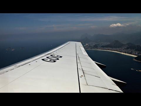 GOL Linhas Aéreas Inteligentes Flight Experience: G31707 Rio de Janeiro to São Paulo