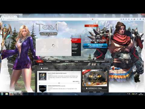 Tera EU how to active code