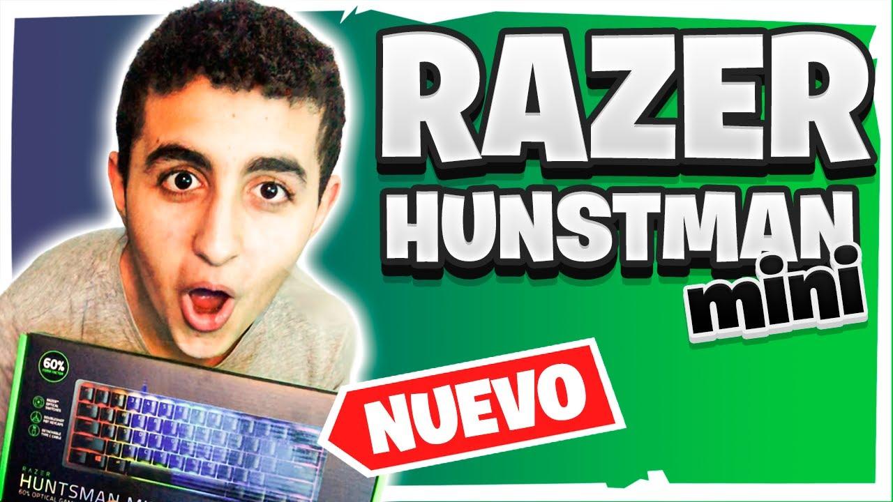 Unboxing Razer Huntsman mini | Mejorando Set-Up