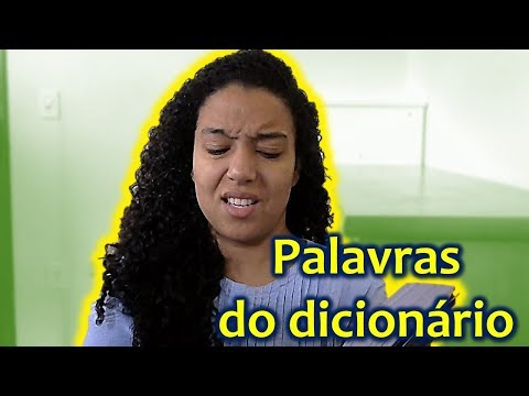 Brazilian Portuguese listening with subtitles #11: Reading random words in the dictionary