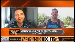 "EXCLUSIVE:  Adam ""Primetime"" Townsend talks Brett Cooper matchup at ACB 88 on Jun. 16"