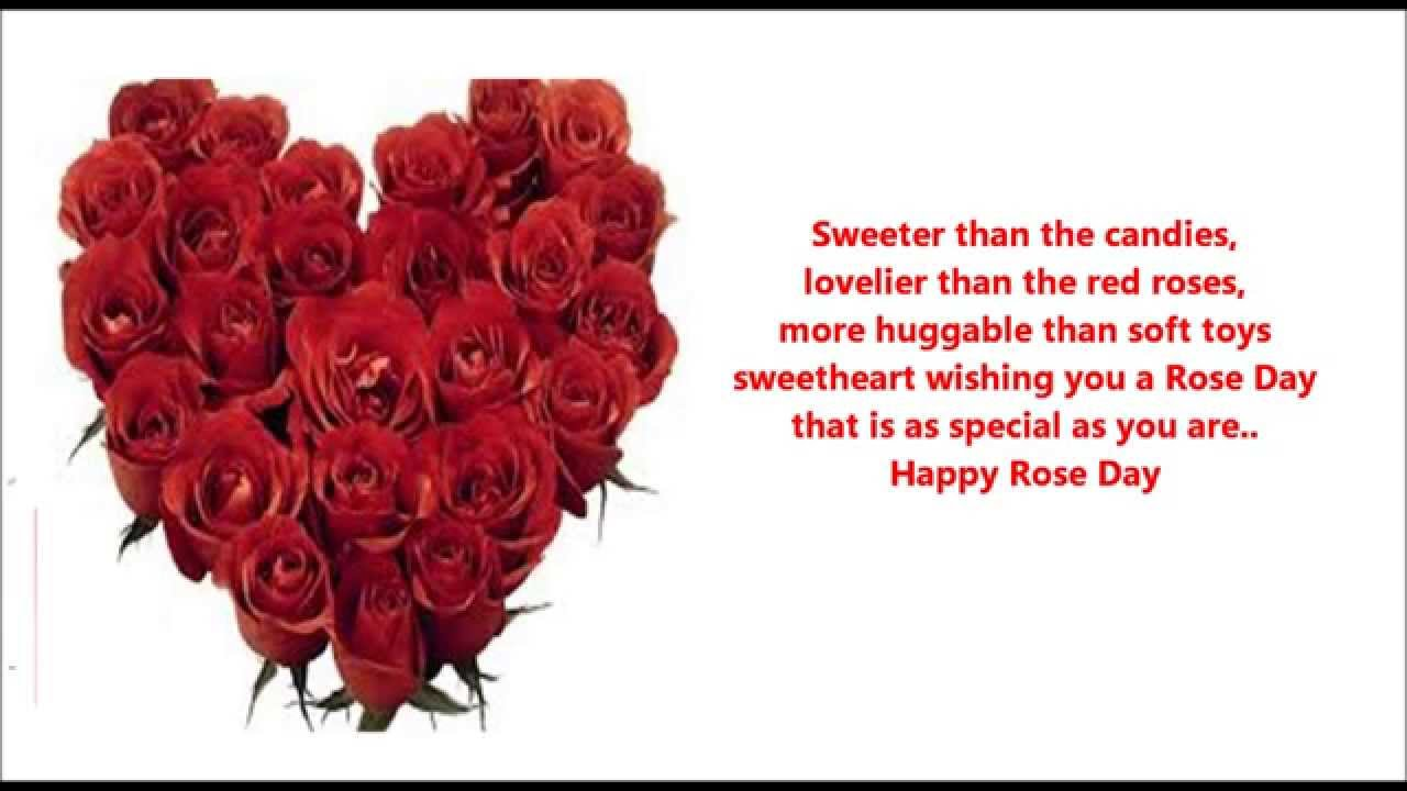 Happy Rose Day 2016 Love Messages Wishes Quotes Greetings Sms