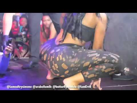 Sultry Simone Gives Fan A Lap Dance & Twerking On Stage In Germany! from YouTube · Duration:  6 minutes 17 seconds