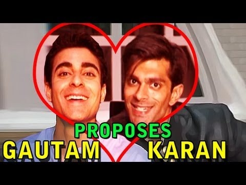 Qubool Hai - Asad aka Karan Singh Grover proposed by Saraswatichandra actor Gautam Rode