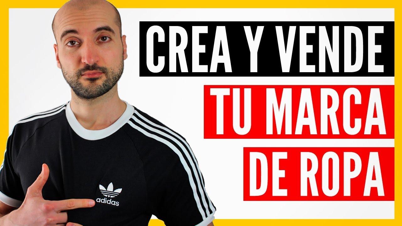 Cómo Crear Una Marca de Ropa Desde Cero (con POCO Dinero) - YouTube e4cb86feb78ba