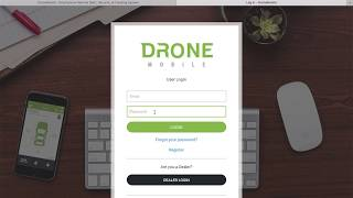 Resetting Your Password for DroneMobile