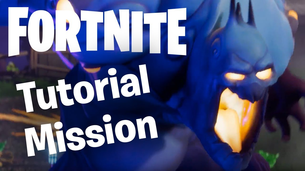 where is the fortnite tutorial