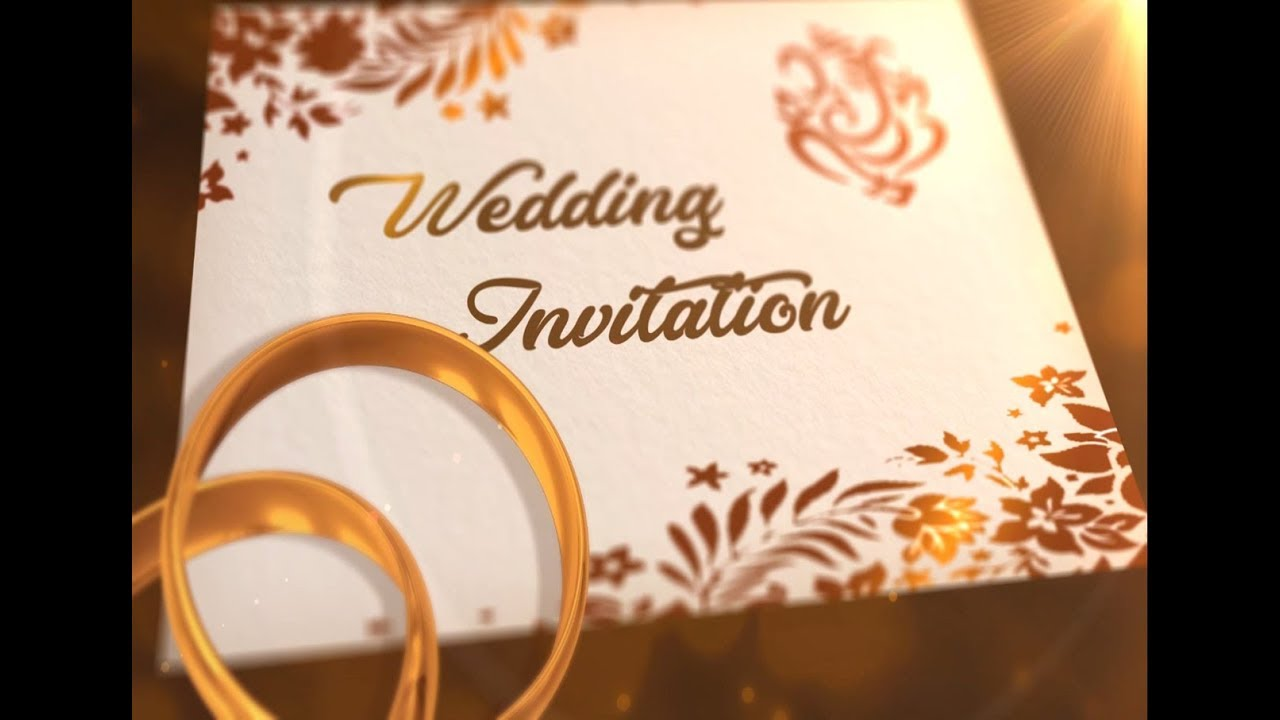Whatsapp Wedding Invitation Latest 2018 | Wedding Invitation | Whatsapp Invitation #1