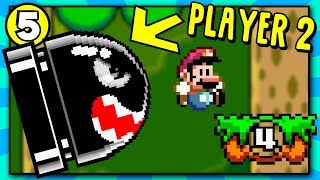 IT'S BACK! Player 2 Controls the Enemies | Super Mario World Rom Hack [Part 5]