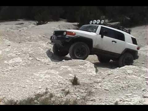 FJ Cruiser Trails Team off road  YouTube