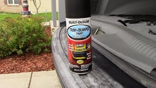 Rust-Oleum Trim and Bumper Paint Review