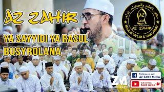 Majelis Az Zahir Ya Sayyidi Ya Rasulallah Busyrolana Banjari